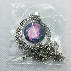 NWT Moon Necklace